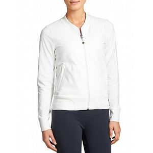 Athleta Bombtastic Bomber Jacket